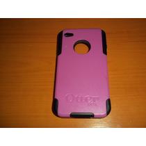 Forro Carcasa Y Goma Protectora Otter Box Iphone 4,4s Y 4g