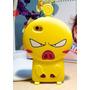 Forro Iphone 4 4s Angry Pig, Cochino Furioso Goma Silicona