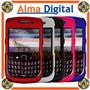 Carcasa Plastica Blackberry Gemini 8520 8530 Metalizada Bb