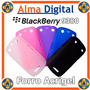 Forro Acrigel Blackberry Curve 9380 Estuche Tipo Manguera Bb