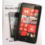 Forro Gel + Lámina Protectora Para Nokia Lumia 820