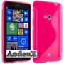 Forros Acrigel Nokia Lumia 625 Goma Protector Andeux