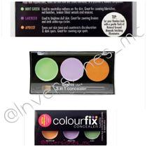 Colourfix Santee Usa 3 En 1 Corrector Anaranjado,verde, Lila
