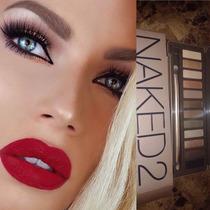 Maquillaje Naked 2, Paleta De Sombras, Para Ojos Ahumados