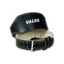 Cinturón De Cuero 6 Pulgadas Marca Valeo Para Levantar Pesas