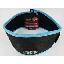 Cinturon Pesas K6 Protector Lumbar Talla S,m,l,xl