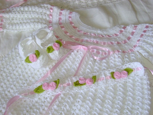 Chambritas a crochet para nenas imagui - Imagui