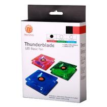 Fan Led Thermaltake Thunderblade Rojo 120x120x25mm Antiruido