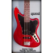 Vendo Mi Hermoso Bajo Fender Squier Jaguar Como Nuevo
