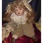 Muñecos Alemanes Cara Porcelana Antiguedad Decoracion