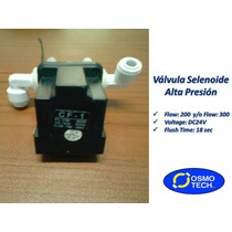 Válvula Selenoide Alta Presión + Codos Push On P/osmosis Inv