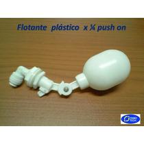 Flotante Plástico X 1/4 Push On Para Dispensadores De Agua