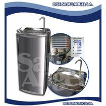 Enfriador / Filtro Tipo Fuente Clear Water® En Acero