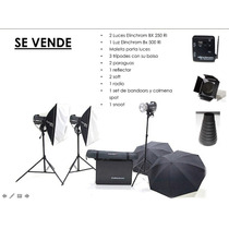 Kit De Tres (3) Luces Elinchrom Bxri 250/500/500