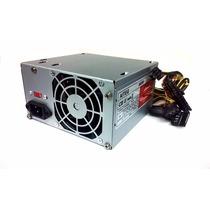 Fuente De Poder Case Atx 600w 24+4 Pin Conector Sata