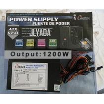 Fuente De Poder Omega De 1200w Reales Con Pci Exp. Box Nueva