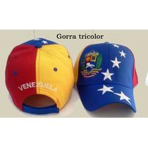 Gorras Tricolor De Buena Calidad!