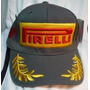 Gorra Pirelli Formula 1 Podium Gris. Nav13.