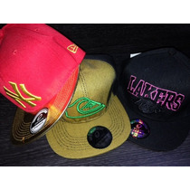 Gorras Planas Quiksilver - Lakers - New York Yankees