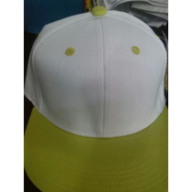 Gorras Planas Unicolores Snapback Para Bordar Solo Mayor