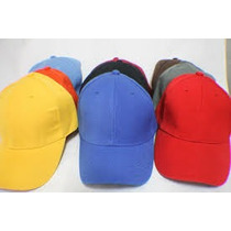 Gorras Unicolor Para Bordar Al Mayor