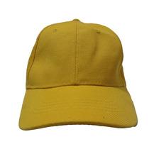 Gorra Amarilla Para Bordar Unicolor Con Broche Caiman