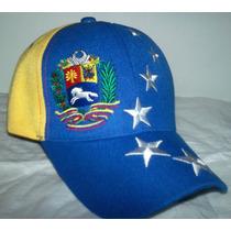 Gorras Tricolor Alusivas A La Bandera Venezolana. Unisex