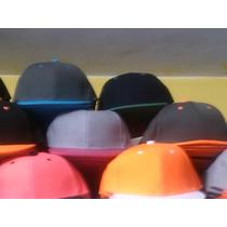 Gorras Planas Unicolores Snapback Solo Mayor