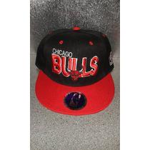 Gorra Plana Snapback Chicago Bulls
