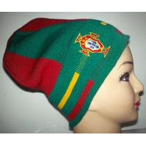 Pasamontañas Con Colores De La Bandera De Portugal Y España