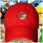 Gorra Angrybirds (pajaro Rojo)
