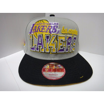 Gorras Snapback Lakers Nba