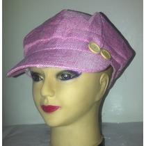 Gorras Boinas Con Viseras Con Dos Botones Al Lado Para Damas