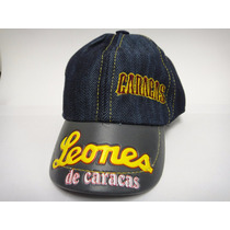 Gorra Leones Del Caracas Niño De Cierre Bluejeam