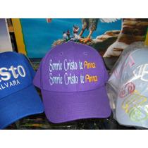 Gorras Bordadas Con Mensajes Cristianos