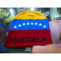 Gorros Pasamontañas Bufandas Tricolor De Venezuela