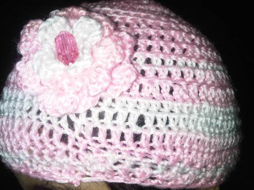 Accesorios De Baño A Crochet:Hermosos Gorros A Crochet En Hilo Ropa Bebe Nina Filmvz Portal Picture