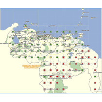 Garmin Mapa De Venezuela Venrut Versión Actualizada Mensual