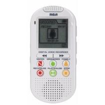 Grabador De Voz Digital Rca Recordatorios 560 Horas Vr5210