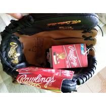 Guante De Beisbol Para Zurdo Marca Rawlings 7-9 Años Nuevo