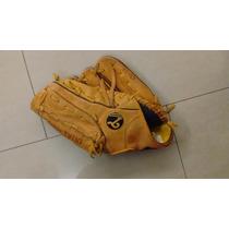 Guante De Baseball Tamanaco Profesional Cuero 12.5