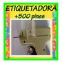 Maquina Etiquetadora +500 Repuestos De Regalo