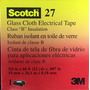 Teipe 3m Scotch 27 3/4 Cinta De Fibra De Vidrio