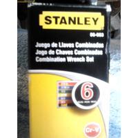 Juego De Llaves Combinadas Stanley 6 Piezas