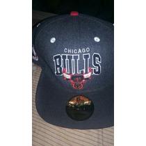 Gorra Chicago Bulls Importada De Broche Atrás