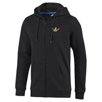 Adidas Originals Rasta Fleece Hoodie Track Top Jacket J