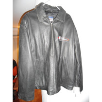 Chaqueta Cuero 100% Original Planet Hollywood Negra