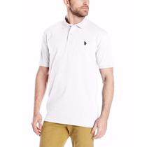 Chemises Camisas Marca Polo Talla M Blanco