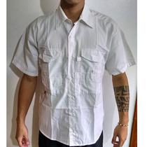 Camisa Modelo Columbia O Safari Talla M Para Caballero