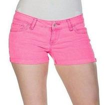 Levis Short Strech Pink 100% Original Dama